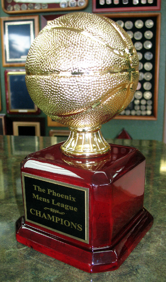 8 75 Quot Tall Resin Basketball Trophy Fantasy Trophy Store