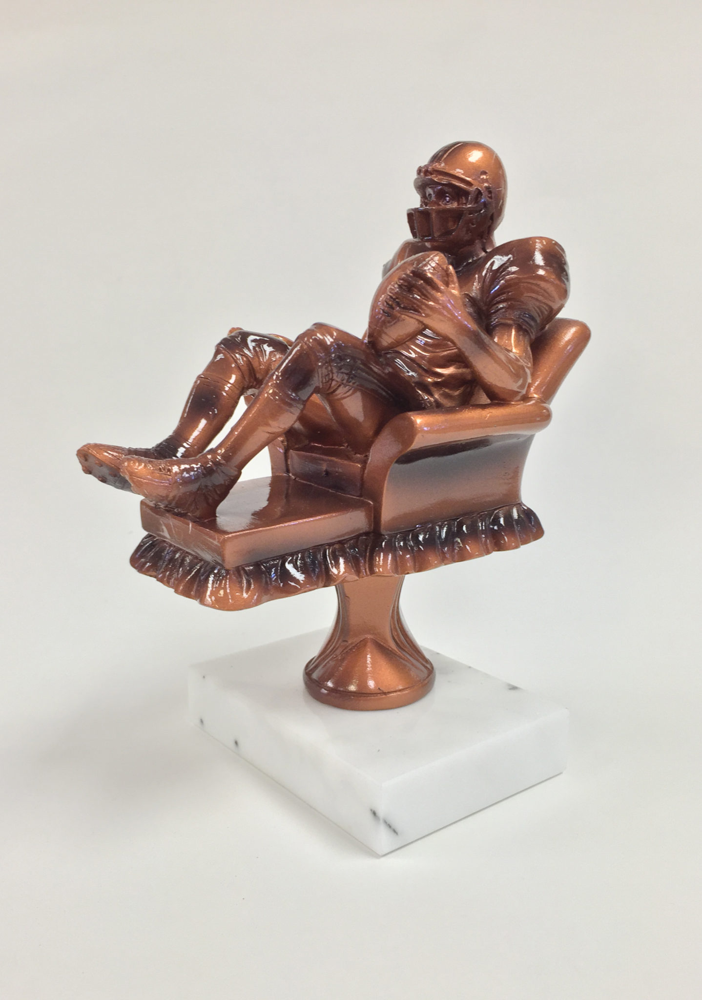 "5 3/4"" Tall Armchair Quarterback - Fantasy Trophy Store"